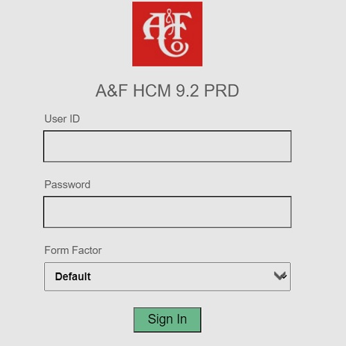 Abercrombie and Fitch Employee Login